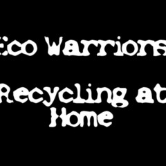 Recycling at home with Green Eco Warriors