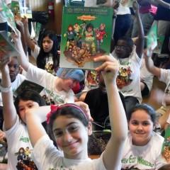 Green Eco Warrior Comic Book