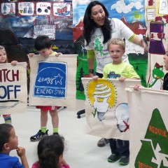 The Green Eco Warriors were enthusiastic and compelling!
