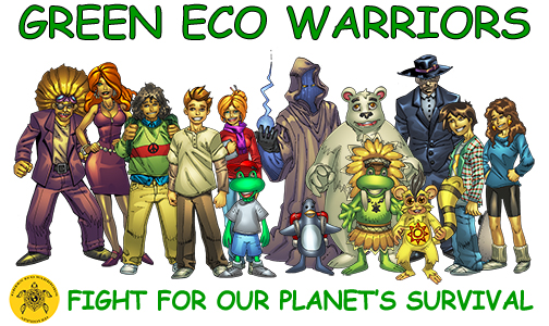 Fight for our planet's survival!